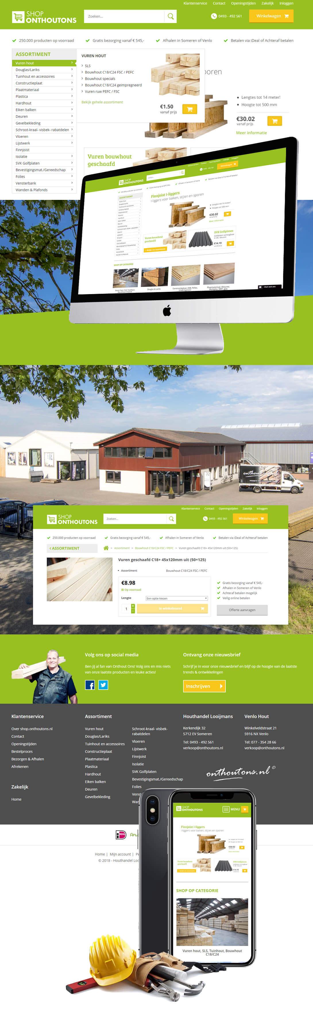 webshop-houthandel-onthoutons-looijmans-reclamebureau-internetbureau-website-maken-steenstramedia