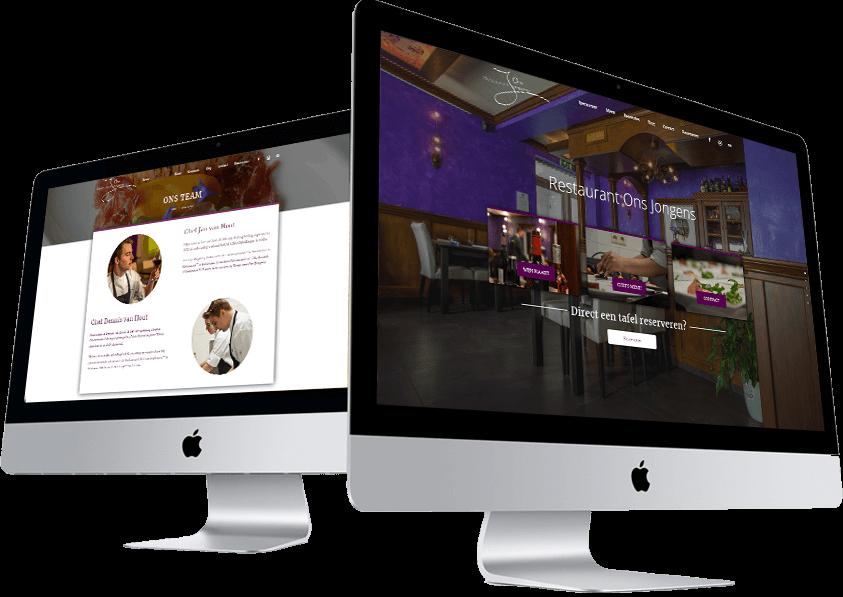 website-maken-restaurant-onsjongens-internetbureau-someren-asten-hoofdfoto