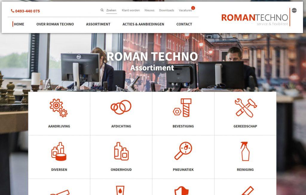website roman techno