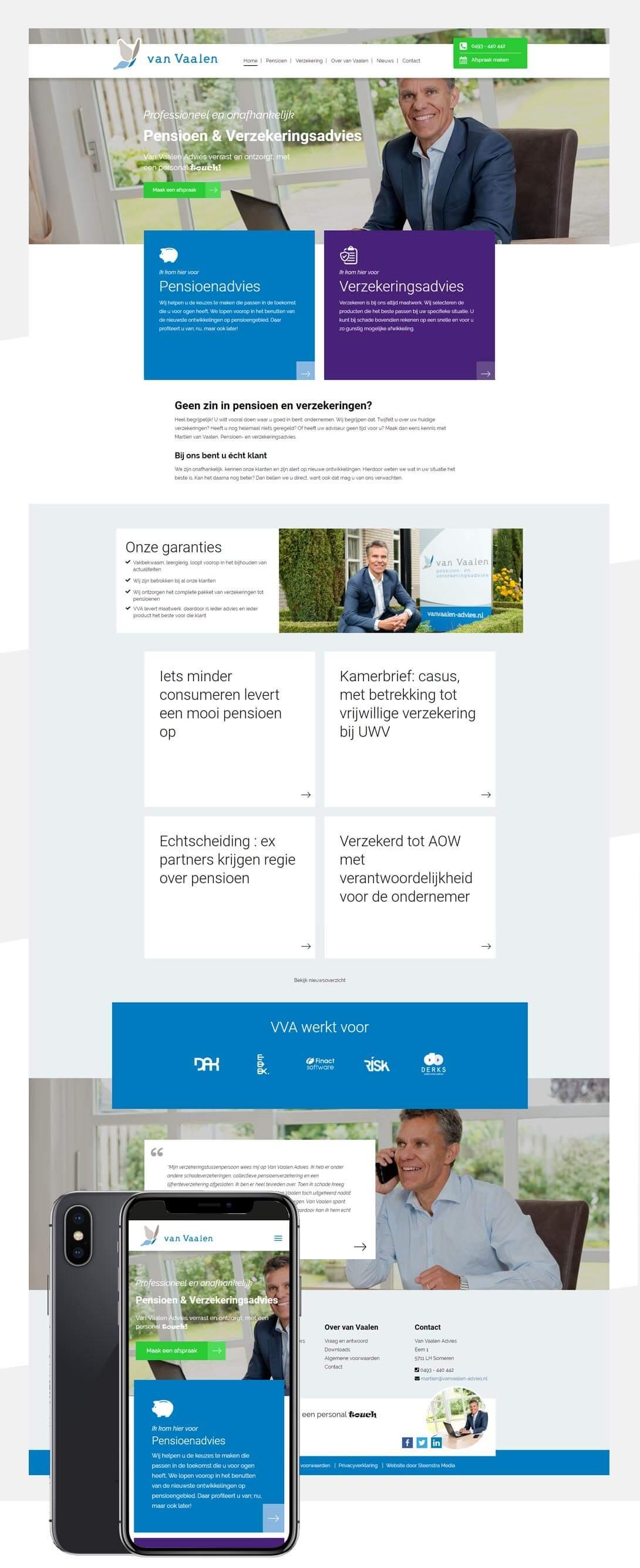 van-vaalen-advies-website-laten-maken-someren-steenstramedia-def