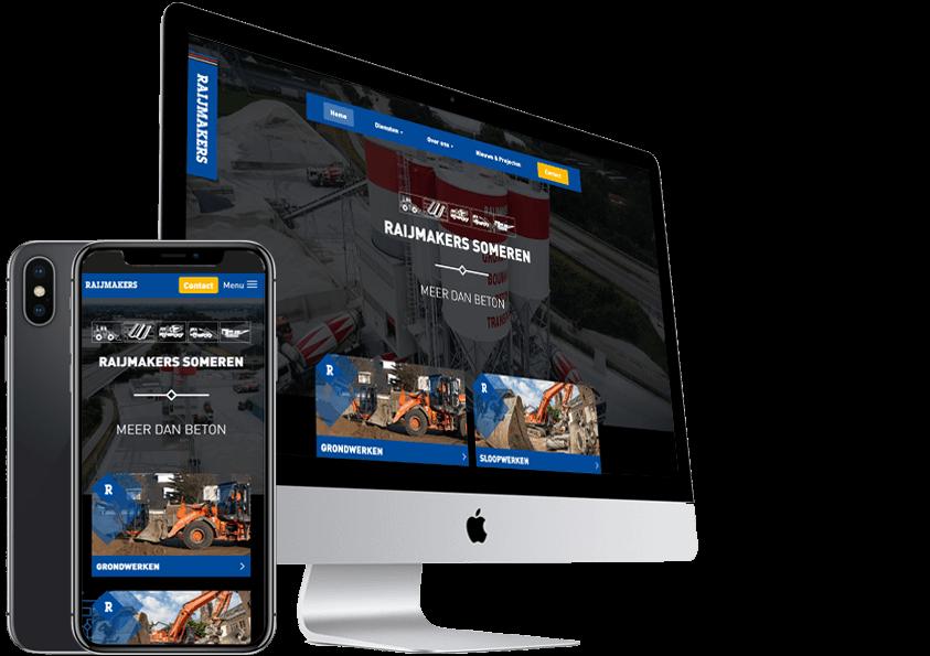 Raijmakers Someren nieuwe website laten maken