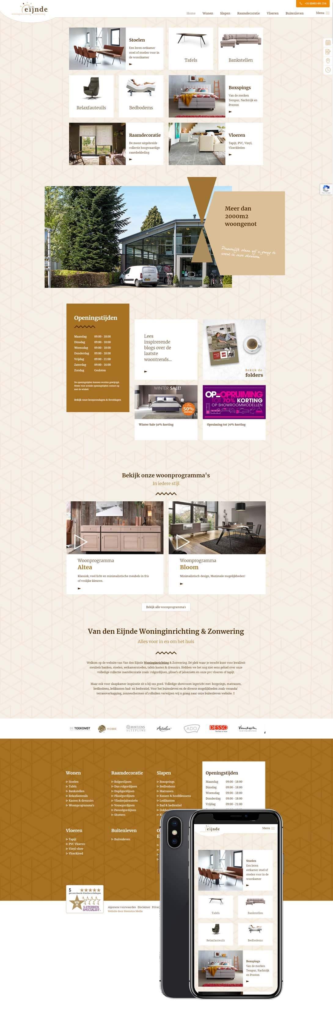 van-den-Eijnde-Woninginrichting-Someren-website-maken-internetbureau-steenstramedia
