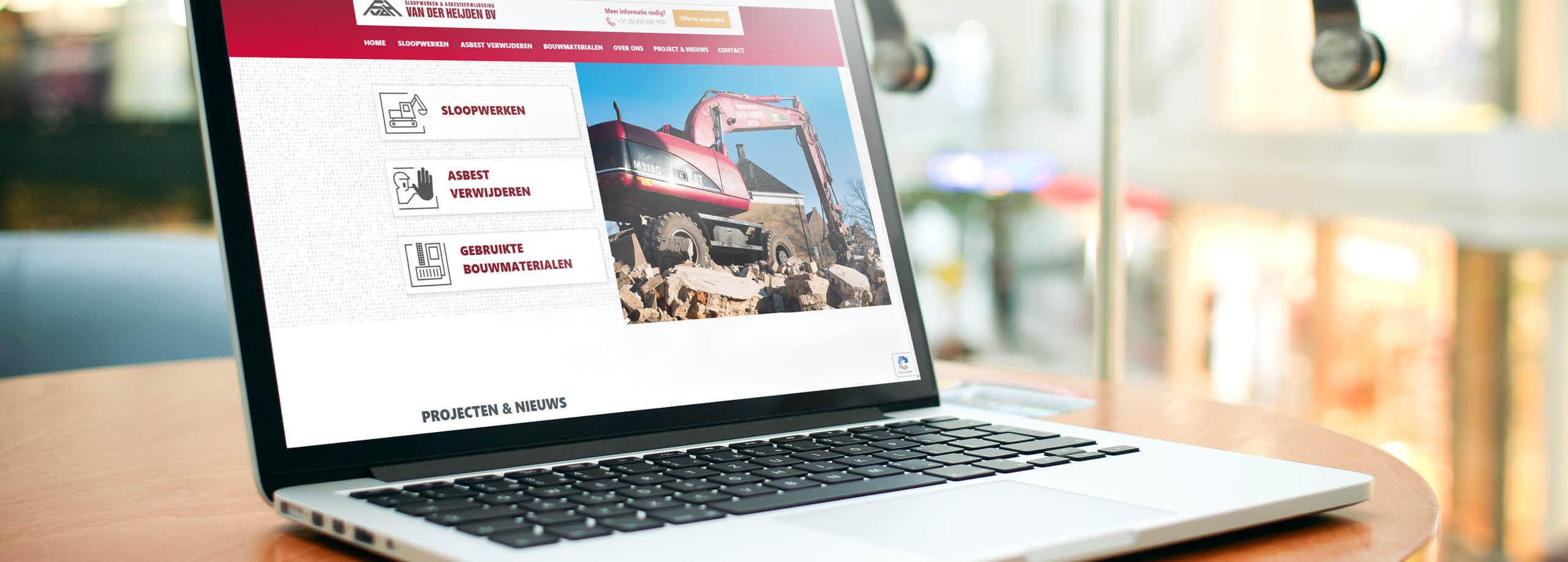 Vanderheijden_Website_Kraanverhuur_ontwerp_banner