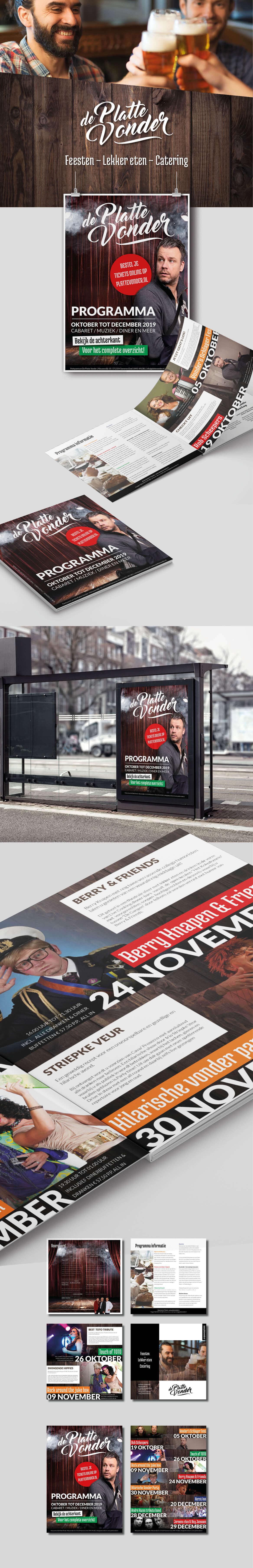 Brochure laten maken Evenementenbrochure Someren Steenstra Media
