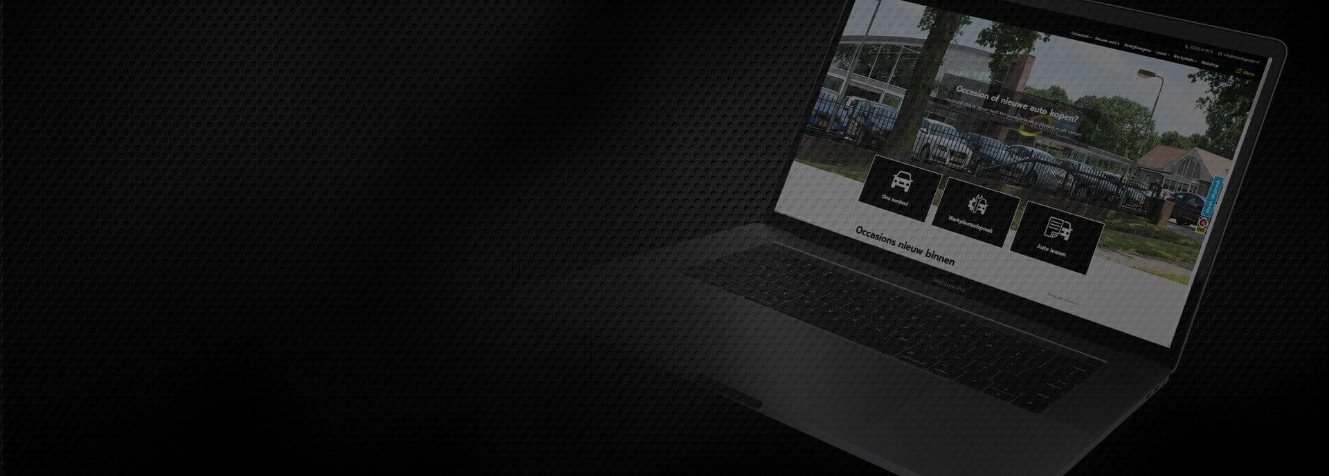Auto website maken - otto de gooijer - steenstra media