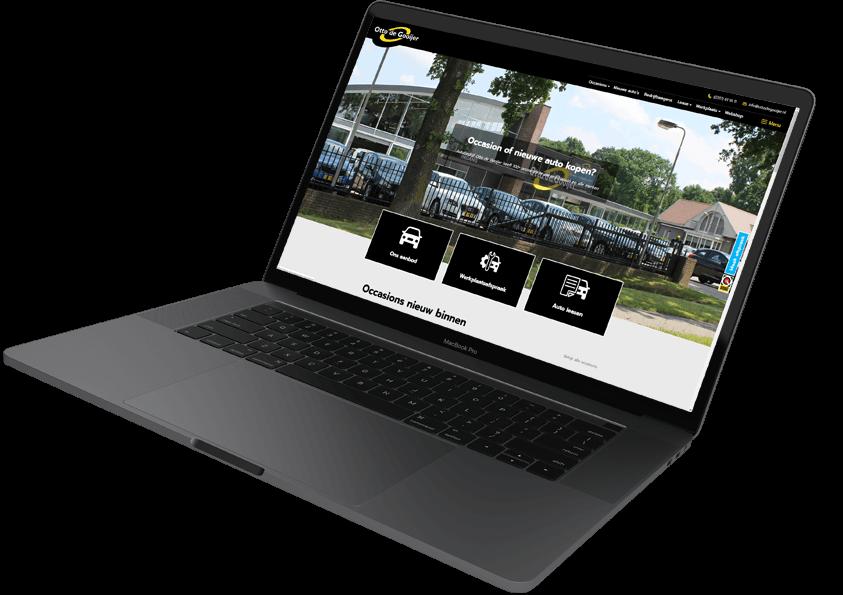 otto de gooijer auto website maken