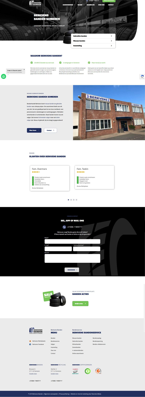Nieuwe website berkvens banden someren - Steenstra Media