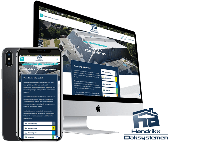 Website-Hendrikx-Daksystemen-Someren-SteenstraMedia