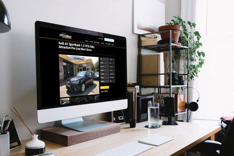 Garage van Uden nieuwe website - Steenstra Media