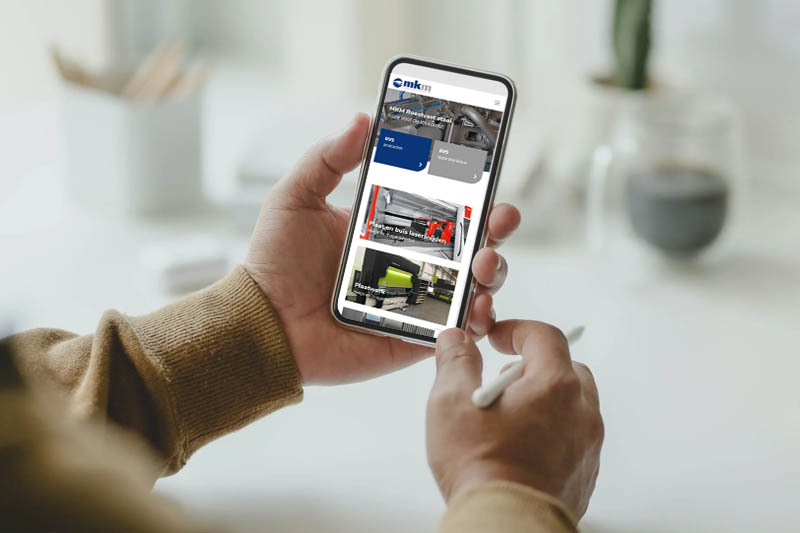 Nieuwe website MKM RVS Someren - Steenstra Media