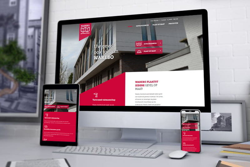 Nieuwe website Warebo Someren - Steenstra Media