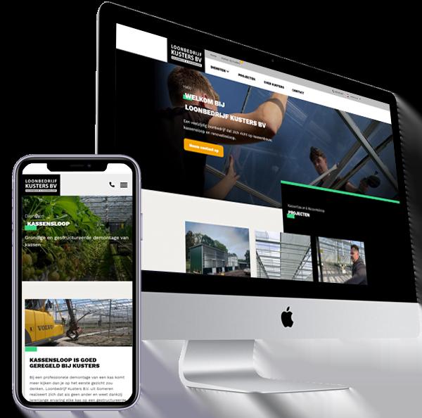 Website-Kusters Kassensloop en Kassenbouw- Steenstra Media Someren