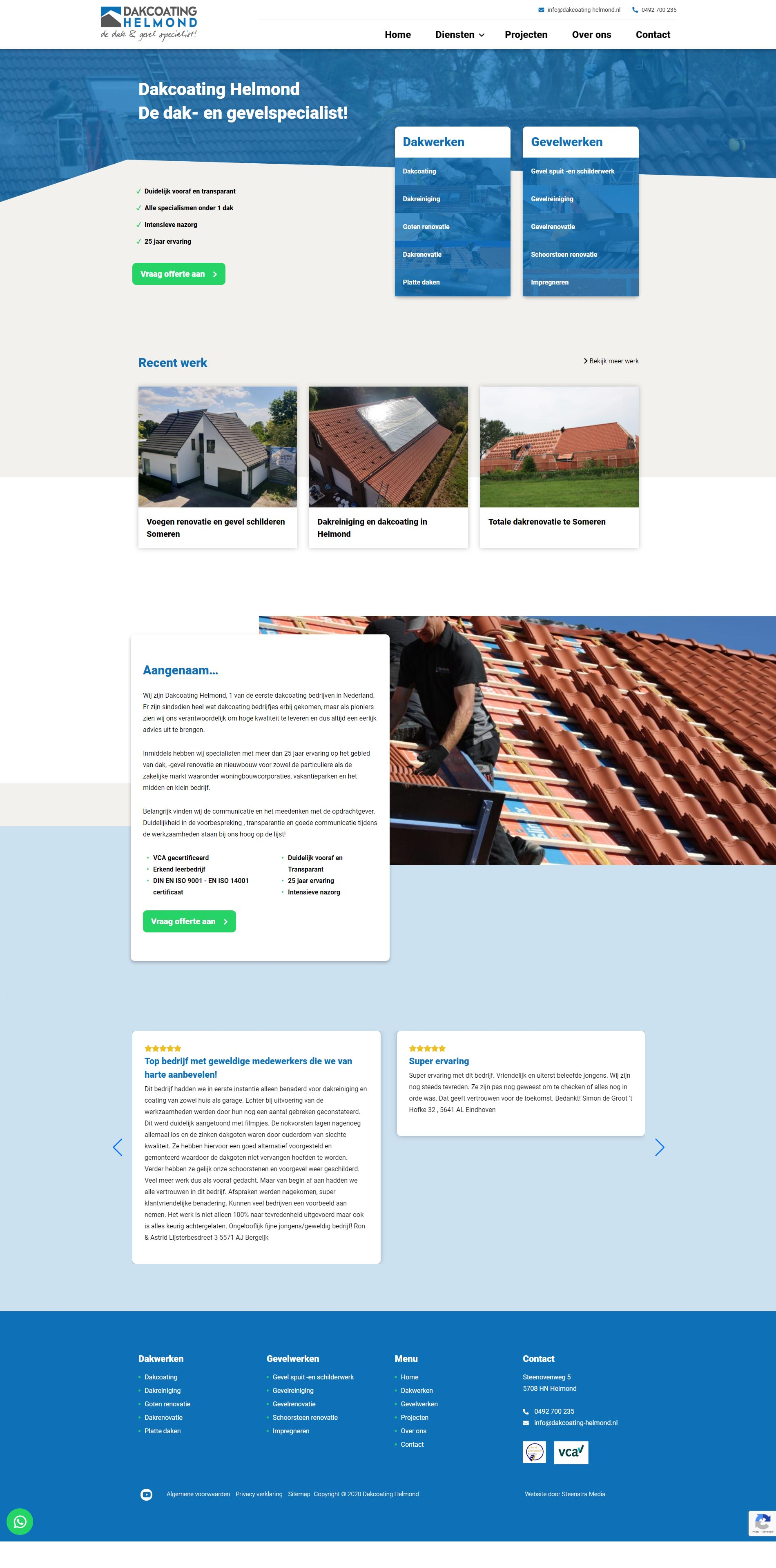 Website-laten-maken-someren-Dakcoating-Helmond -Steenstra Media Someren