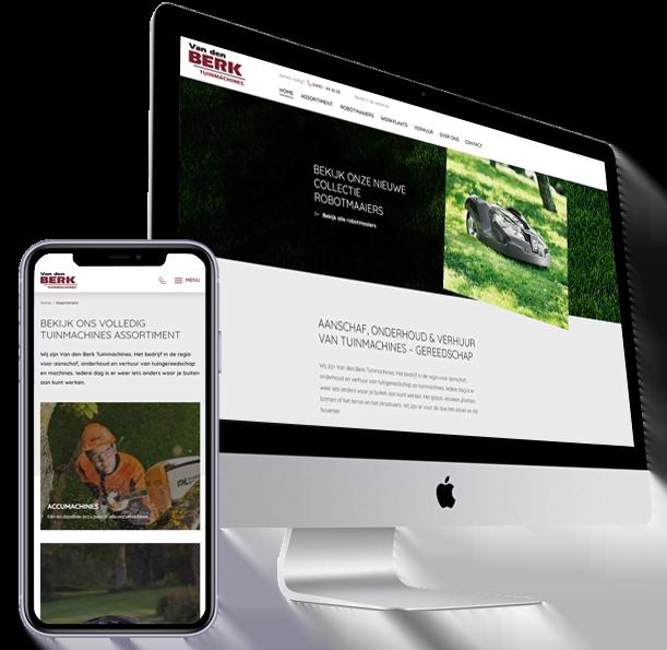 Website-Van-den-Berk-Tuinmachines-Steenstra Media Someren
