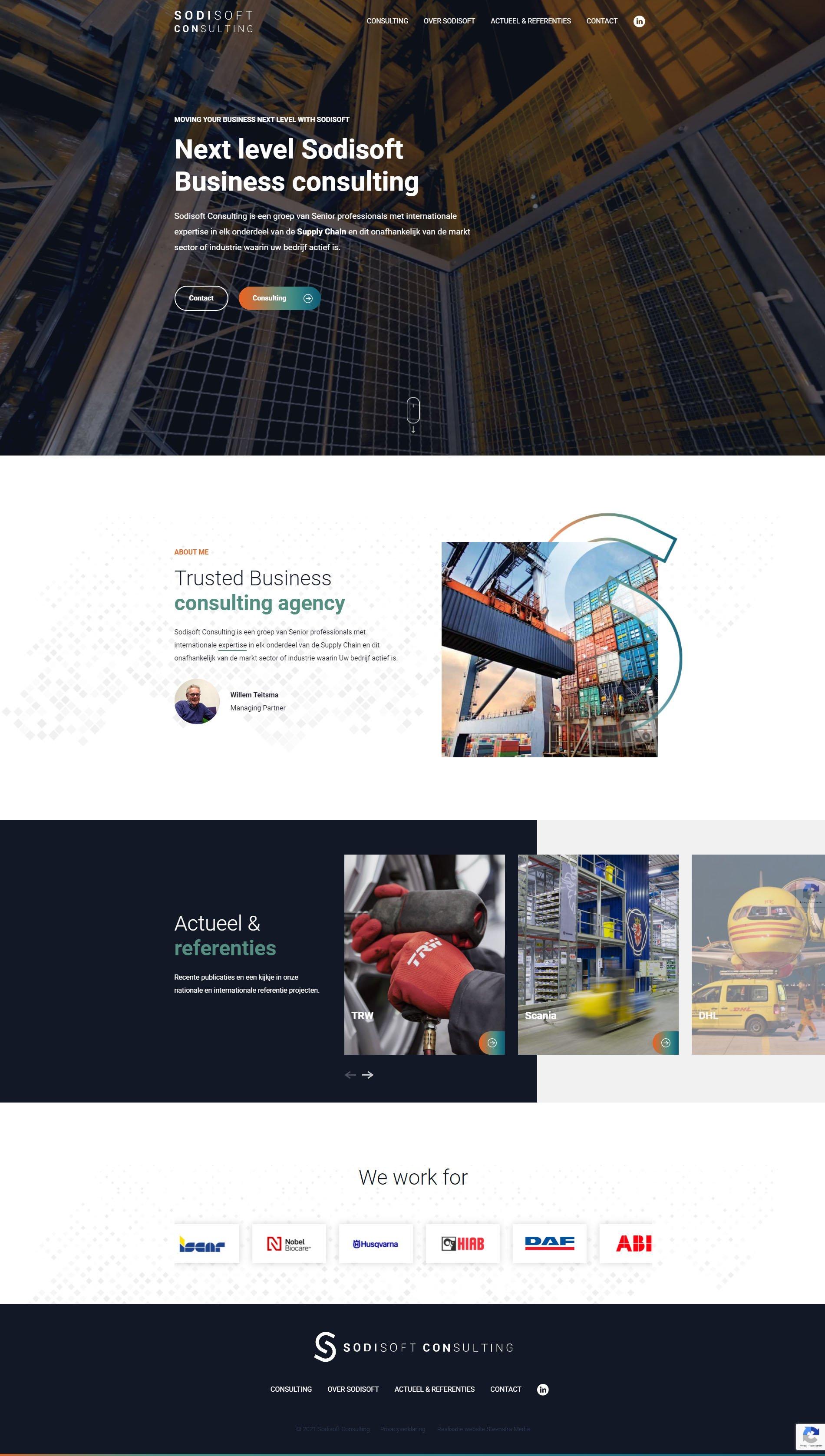 Website Sodisoft (belgie) - website-laten-maken-Steenstra Media