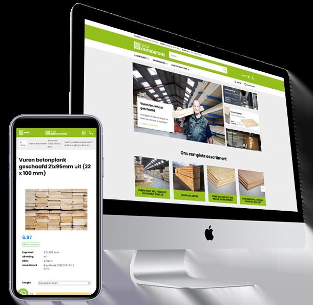 nieuw ontwerp (ux-design) webshop OnthoutOns- Steenstra Media Reclame- en Internetbureau